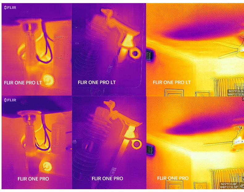 FLIR ONE PRO手机热成像 热感红外线热成像仪热像仪 达人任务 第5张