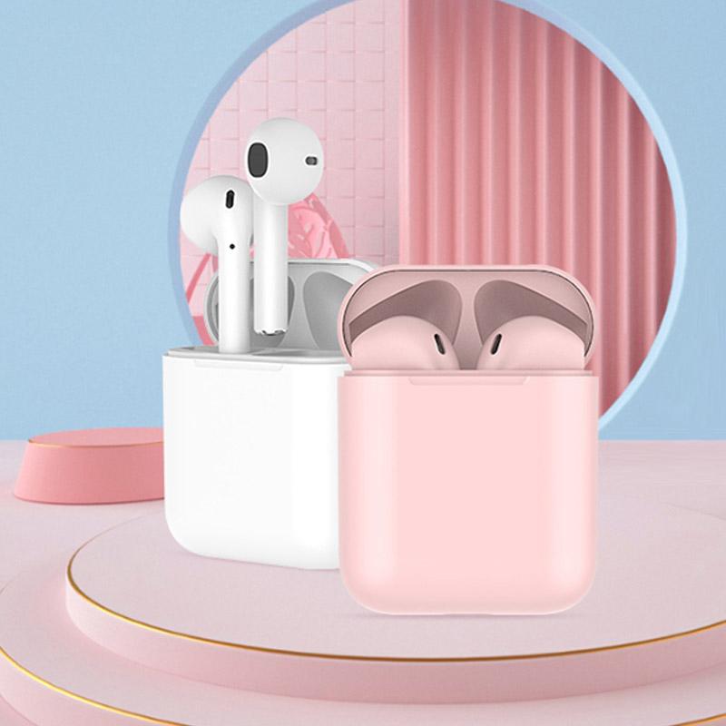 2021新款无线蓝牙耳机入耳式女生双耳运动降噪超长续航大电量耳麦