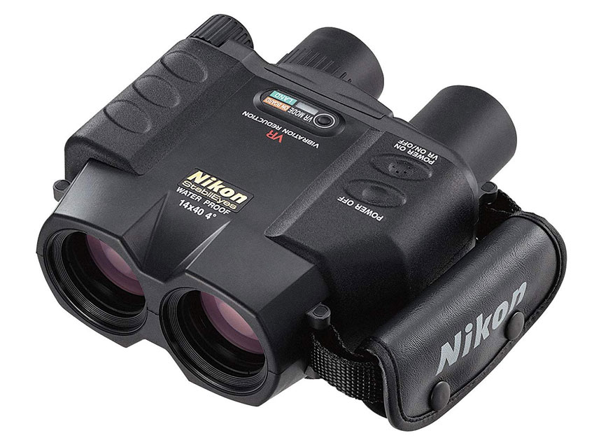 日本尼康双筒电子稳像望远镜StabilEyes 14X40 VR