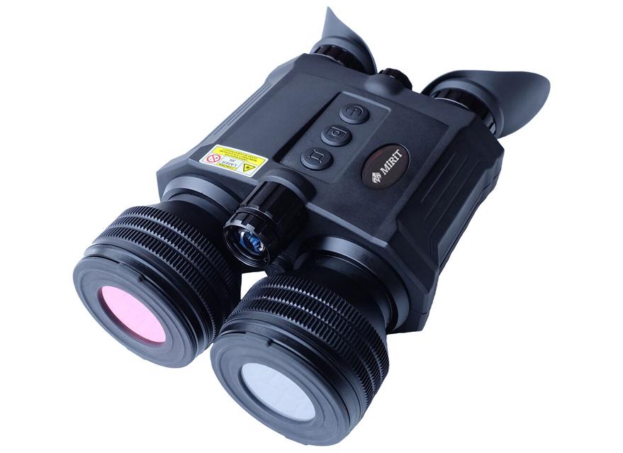 MIRIT 米尔特 B50L 防抖双目双筒夜视仪测距仪版 远程摄录