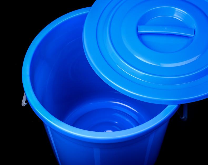 160L 大垃圾桶 蓝色