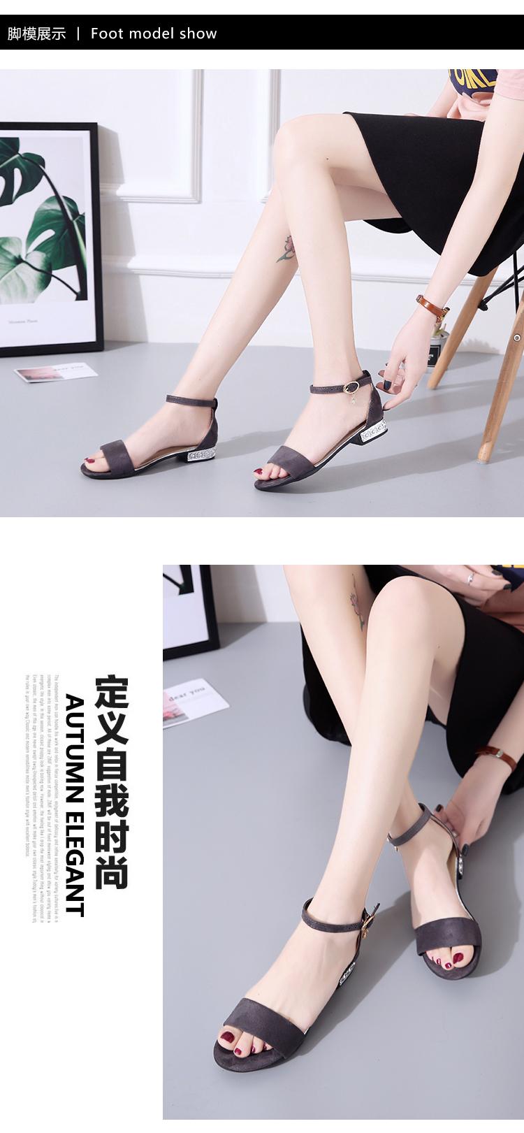 XCZJ Korean Style 2018 Summer Women Sandals Open Toe Flip Flops Women's Flat Sandle With low Women Shoes Gladiator student Shoes 15