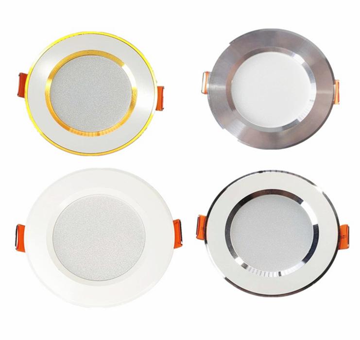 寸筒灯嵌入式钻孔公分客厅家用射灯三色小孔铜灯详细照片