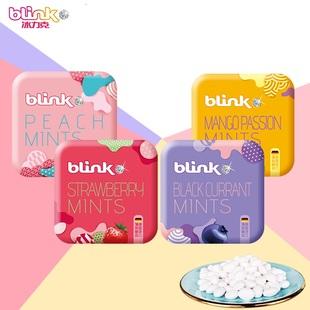【商超同款】4盒無糖薄荷糖接吻糖清新口氣