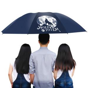 【新品】红叶伞三折伞晴雨伞女晴雨两用太阳伞折叠小黑伞小清新