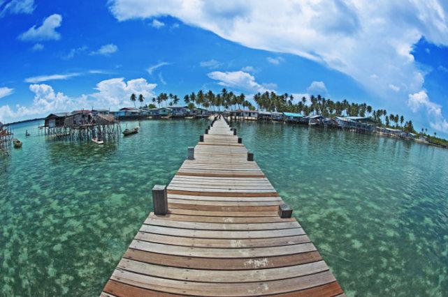 元购马来西亚的仙本那现实世界中的梦境之岛
