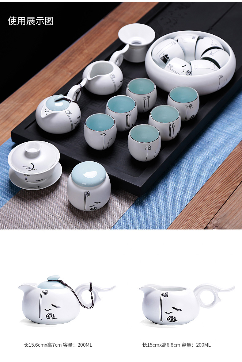 Cup of kung fu tea master Cup but small ceramic cups a single household single large move jingdezhen tea