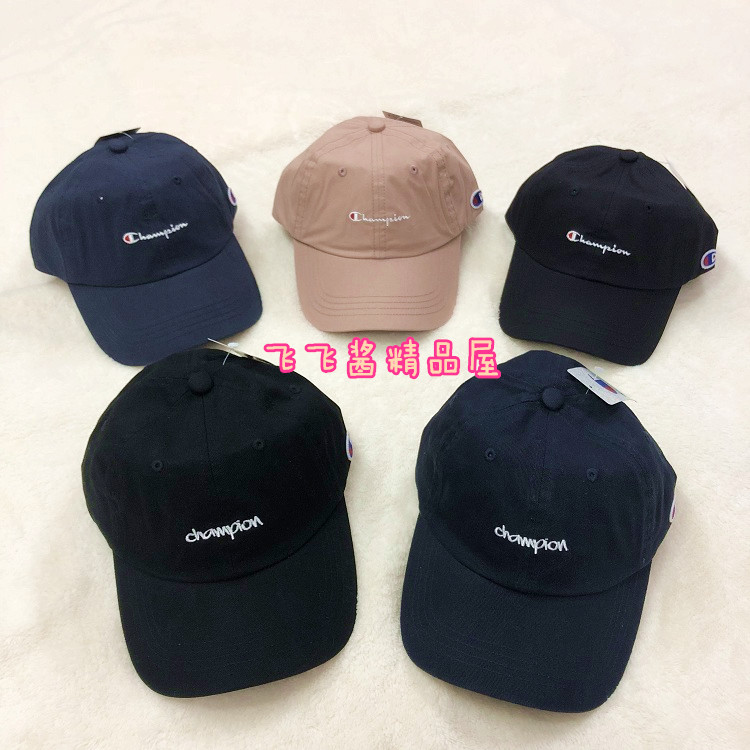 714241f223f Japan to buy Champion large letters embroidery trend wild baseball cap cap  champion cap men and women hat