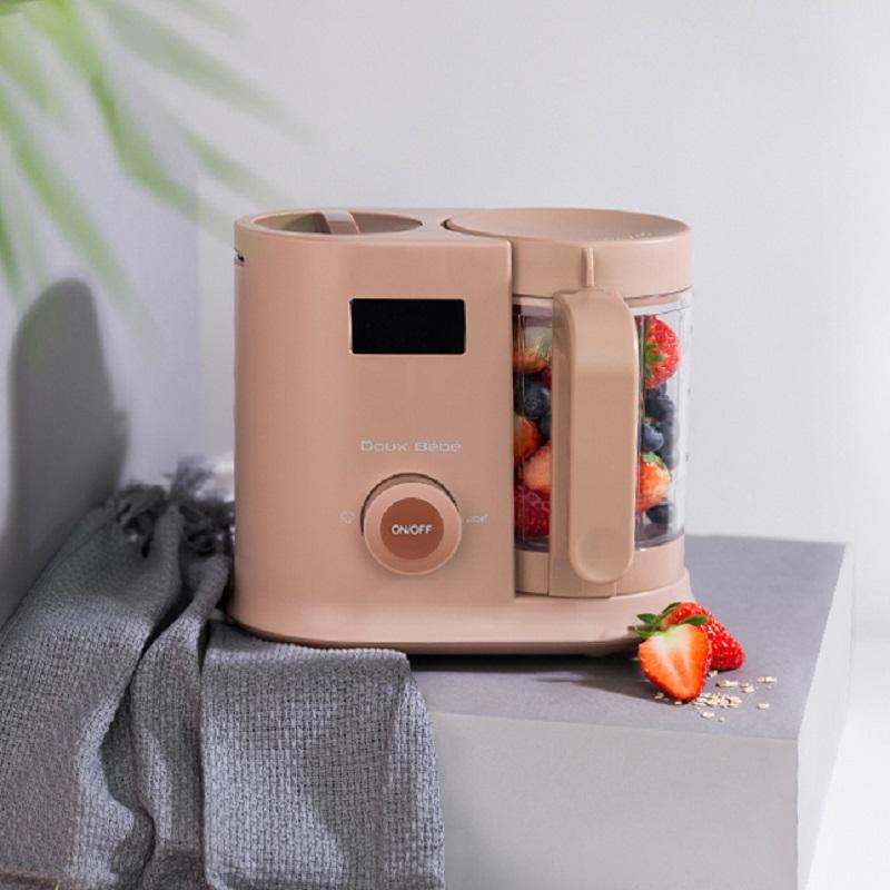 婴儿辅食机蒸煮搅拌榨汁一体机