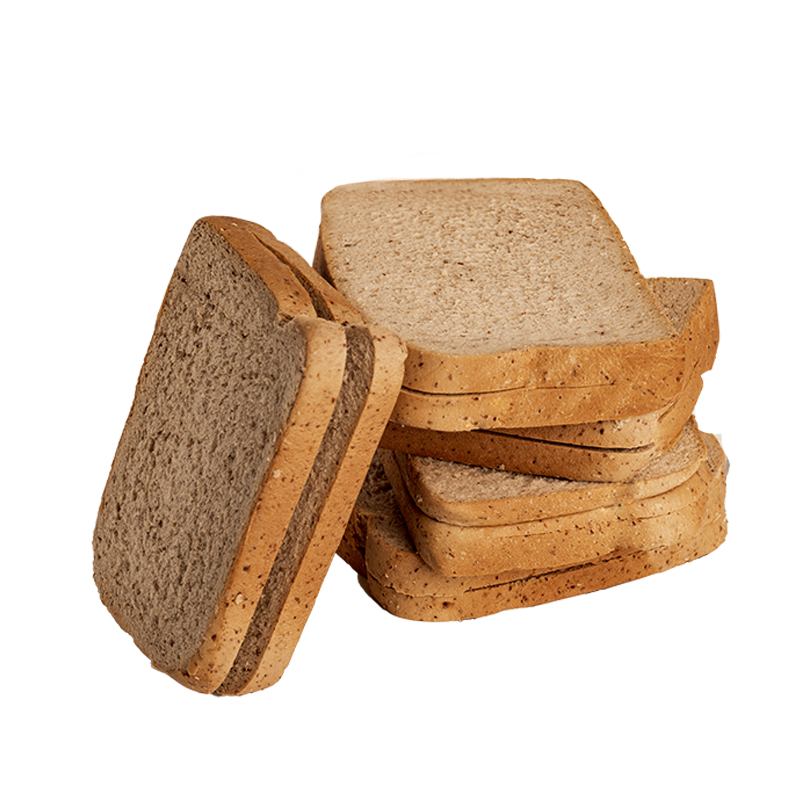 黑麦全麦面包整箱低脂吐司代餐饱腹低0无糖精早餐脂肪热量零食品