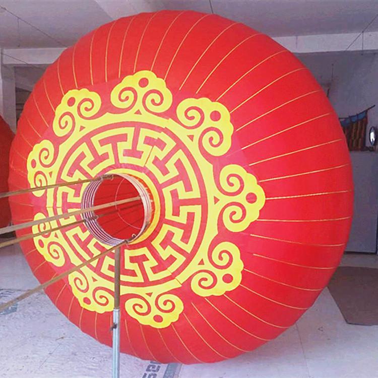 大红灯笼户外防水大门1米1.2米1.5米2米室外春节新过年直径装挂饰