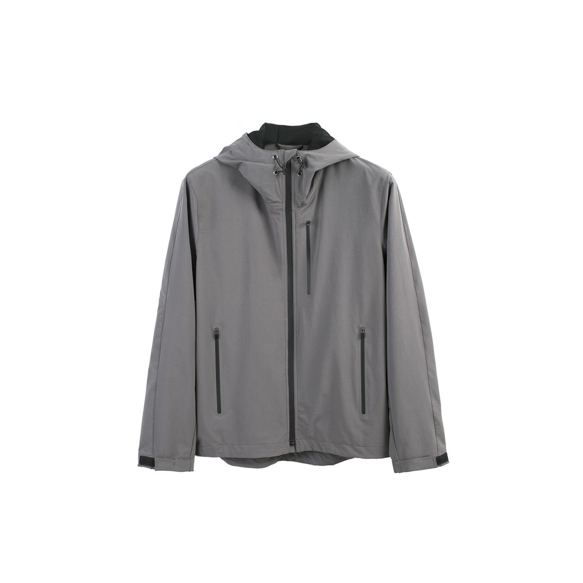 【Nans】 свет группа качества крышка ветролом одежда / LIGHT FULL-ZIP PARKA - NS2A03