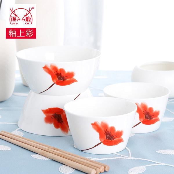 民生瓷业 逐鹿 骨瓷餐具4件套 优惠券折后¥25.9包邮(¥35.9-10)