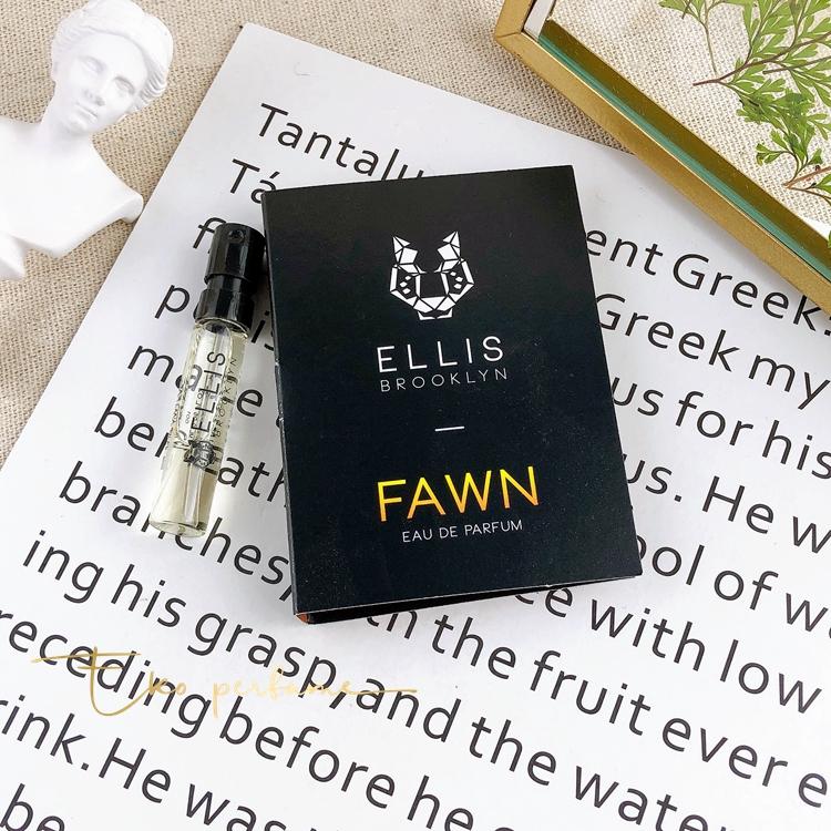 桃子美妝正品現貨 Ellis Brooklyn布魯克林Fawn小鹿男女士中性香水小樣試管1.5ML