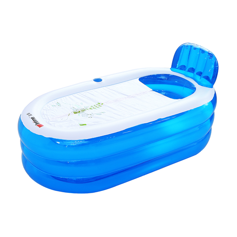 Adult Inflatable Bathtub Household Bathtub Bathtub Thicken Folding ...