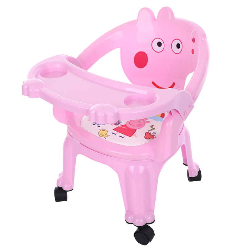 Baby Kids dinner Table Dining Chair Paige backrest seat plastic stool 1-2 year old eat small bench
