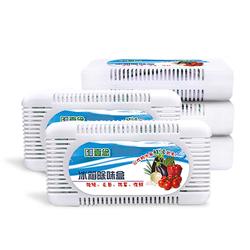 5盒冰箱除味剂活性炭去味剂清新去异味除臭剂 除异味 家用竹炭包