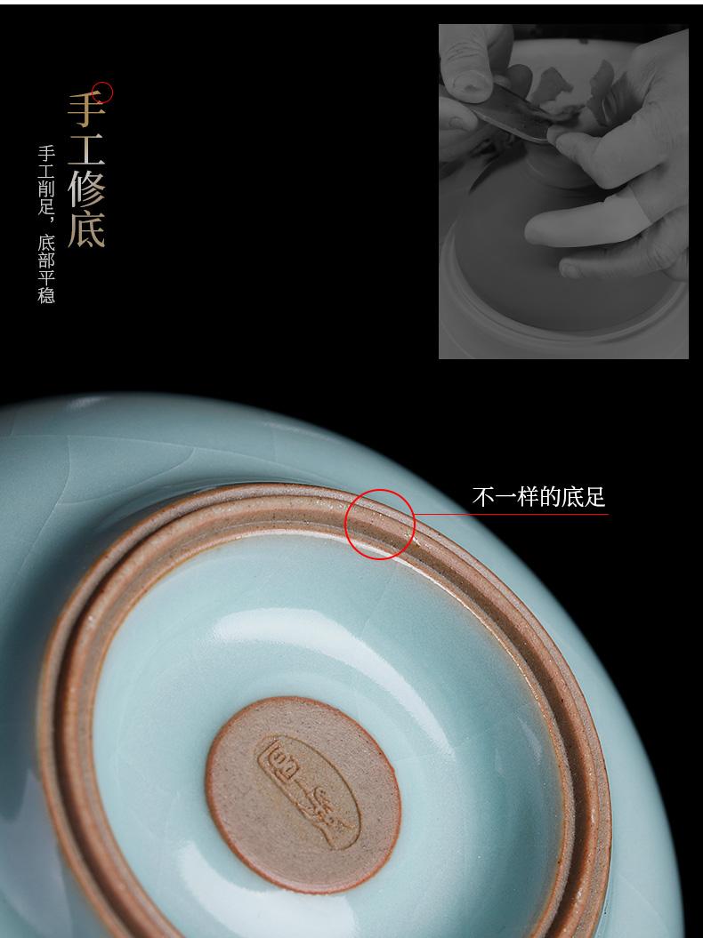 Days cyan ru up market metrix tea cups sliced open can keep checking ceramic sample tea cup men 's lady noggin single CPU