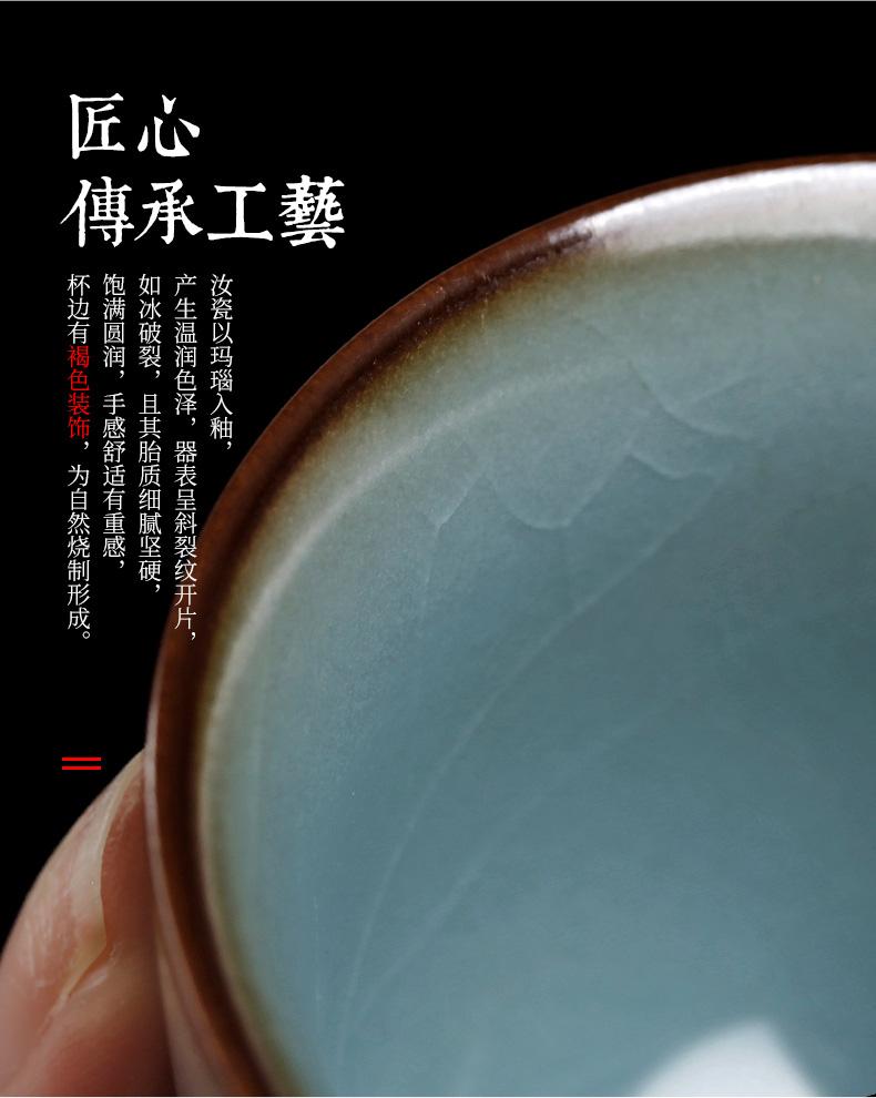 Spoil your up tea tea boutique creative open piece of tea table can raise ceramic tea place a deer with ornament