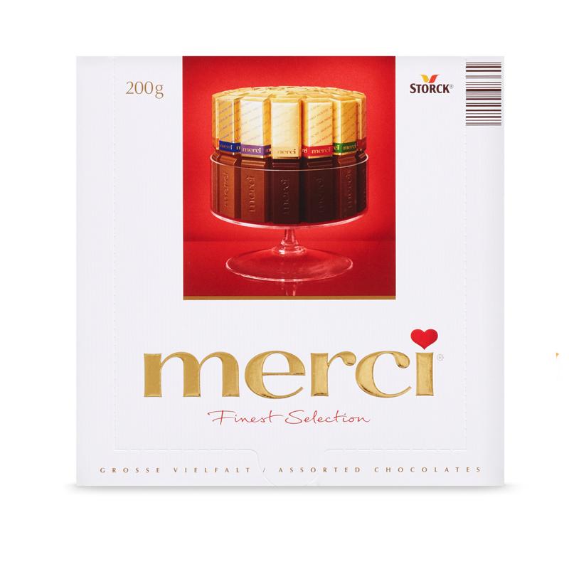德国进口Merci混合巧克力-优惠价5元销量203件