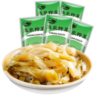 鱼泉美味榨菜15g*40袋小包装一箱装航空炸菜丝下饭菜重庆特产涪陵