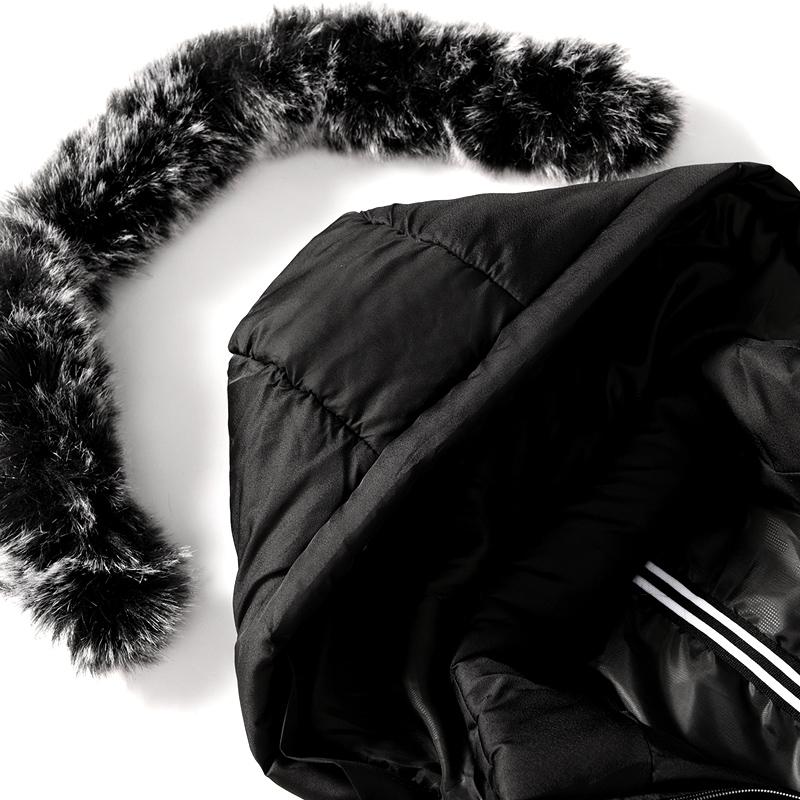Куртка Зимнее пальто среднего возраста длинный зимний день пальто мужчины плюс толстый ватник большой ярдов отец, хлопок-ватник куртка папа установлен