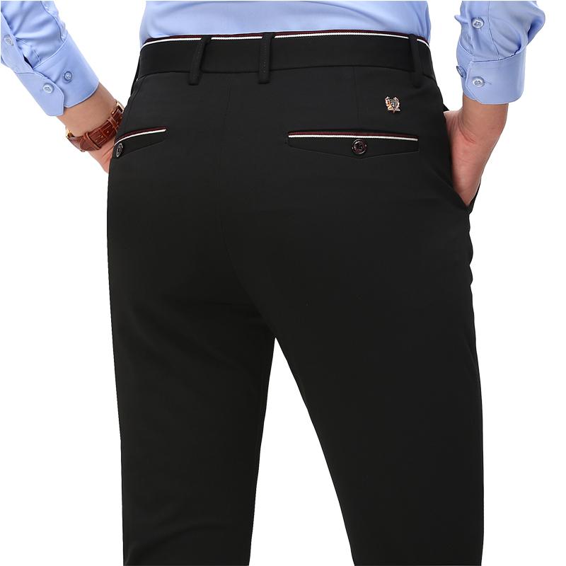 Mùa xuân nam kinh doanh quần âu cao co giãn dài quần dài nam mỏng phù hợp với quần thanh niên quần nam - Quần Harem