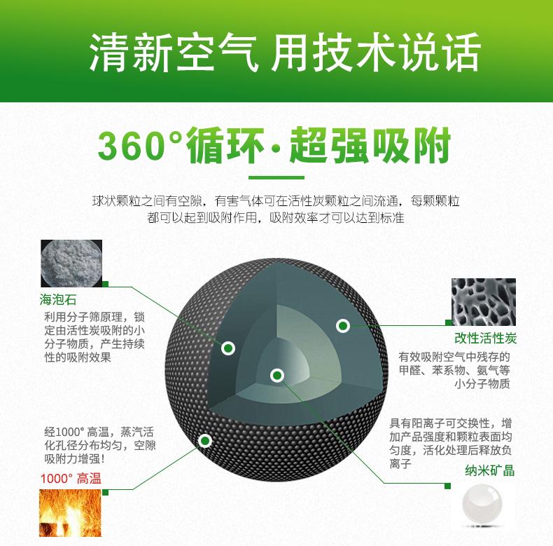 【净和居】矿晶活性炭包4斤 7