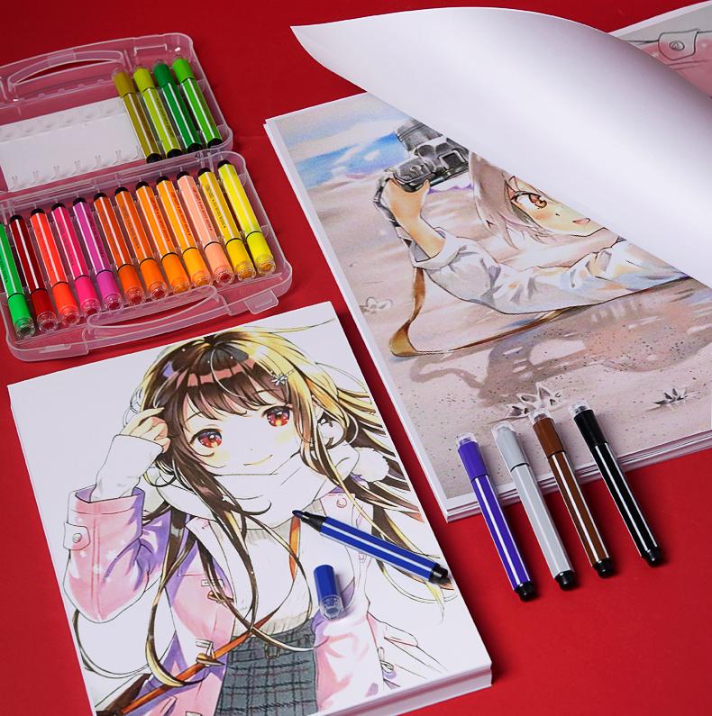 白色卡纸大白纸打印a4纸画画纸a3绘图纸