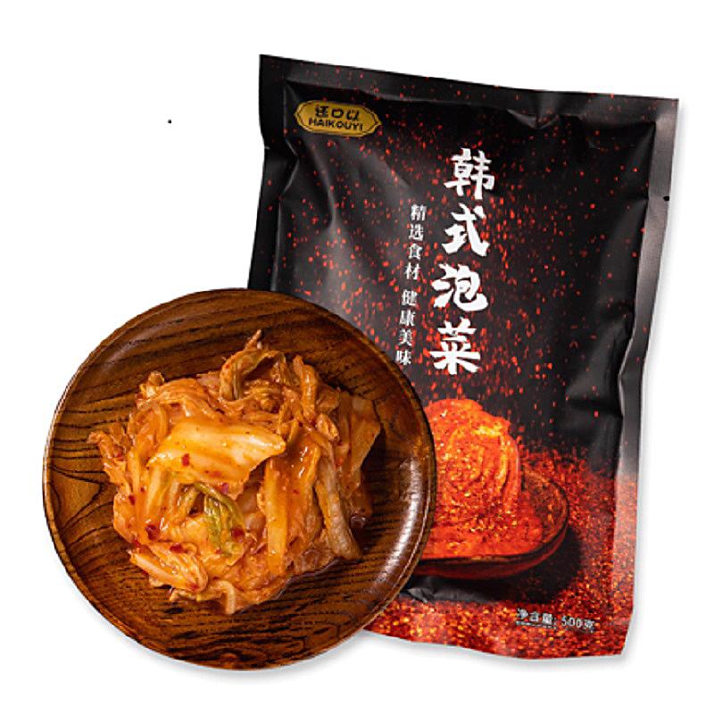 【还口以】正宗韩式泡菜500g*3袋