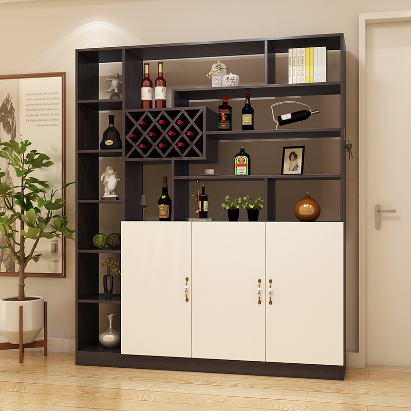 Living room modern minimalist wine cabinet partition cabinet storage room cabinet decoration Shoe cabinet screen cabinet ... & Living room modern minimalist wine cabinet partition cabinet storage ...