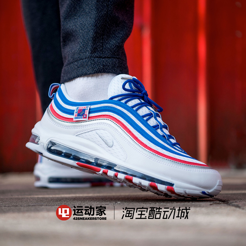 9a3b72c187 ... sports home] Nike Air Max 97 bullet air cushion running shoes 921826-  ...