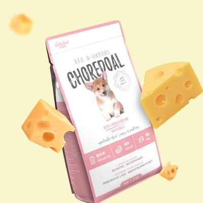 CHOREDOAL宠乐岛 30%鲜羊奶配方犬粮 小型幼犬通用型狗粮1.5kg3斤