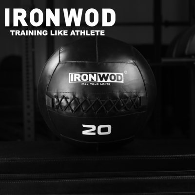 Ironwod pound value wall ball fitness drug ball soft heart ball wallball gravity ball LB private education broke out