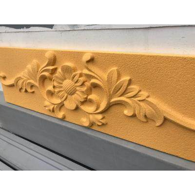 Mountain polybenfum flower sand 2 rock Changwan villa exterior wall decoration relief exterior wall decoration EPS relief