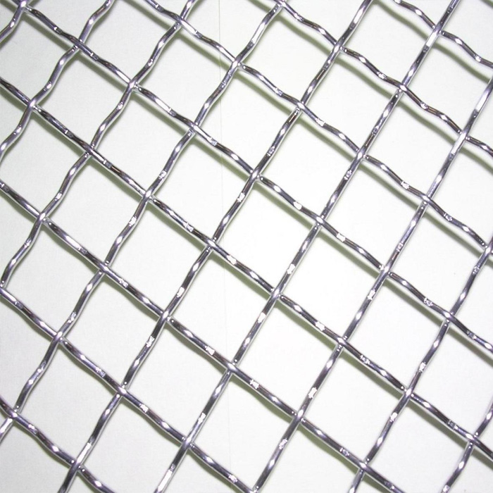 USD 8.07] Stainless steel crimped wire mesh galvanized barbed wire ...