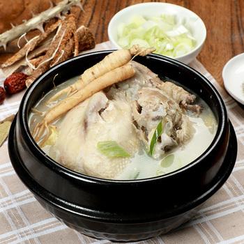 圃美多韩式参鸡汤 冷水自热速食鸡汤 加热即食浓郁人参鸡汤500g