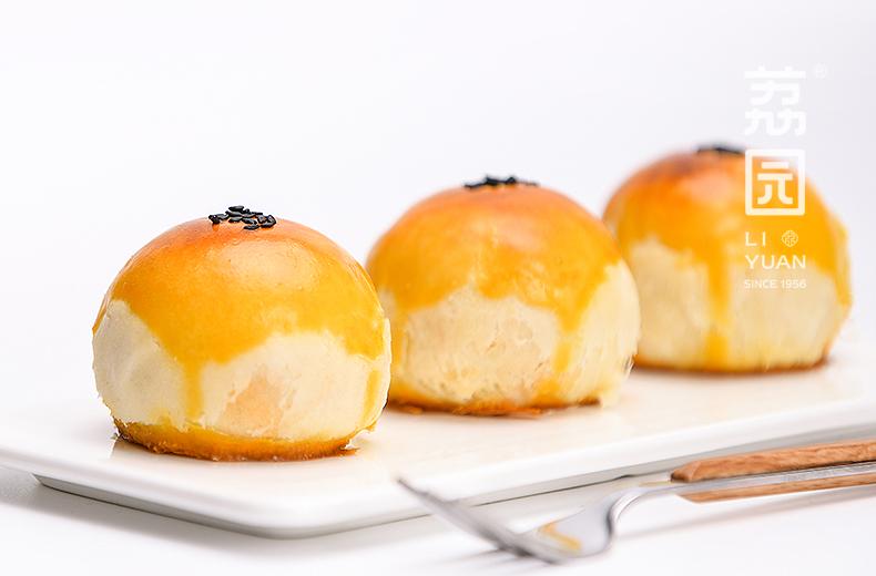 荔园咸鸭蛋黄酥6枚8枚雪媚娘紫薯红豆零食糕点心小吃礼盒面包麻薯商品详情图