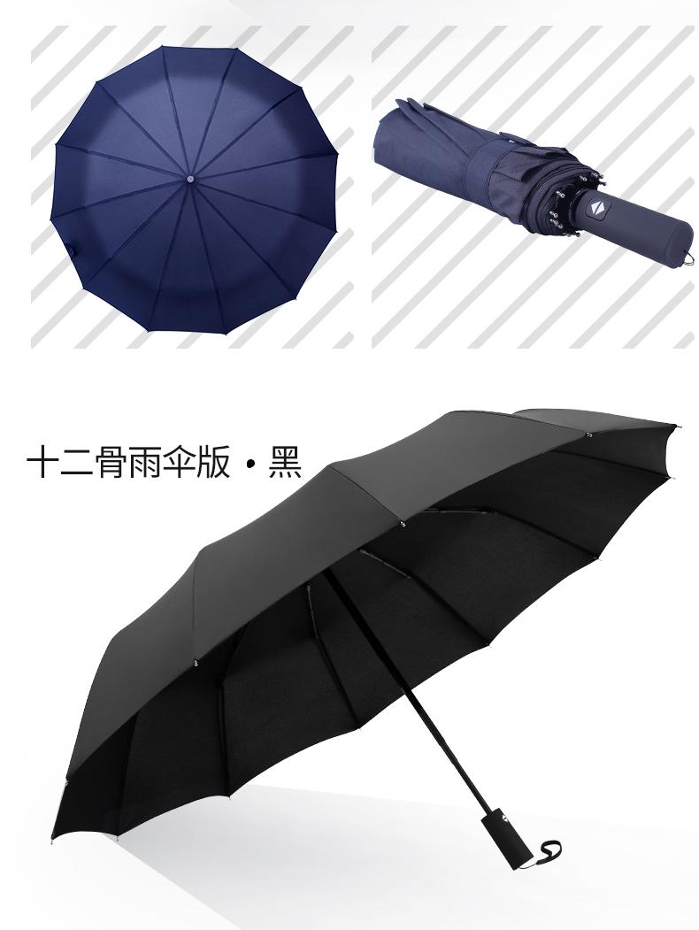 宝迪妮 10骨折叠晴雨伞 图9