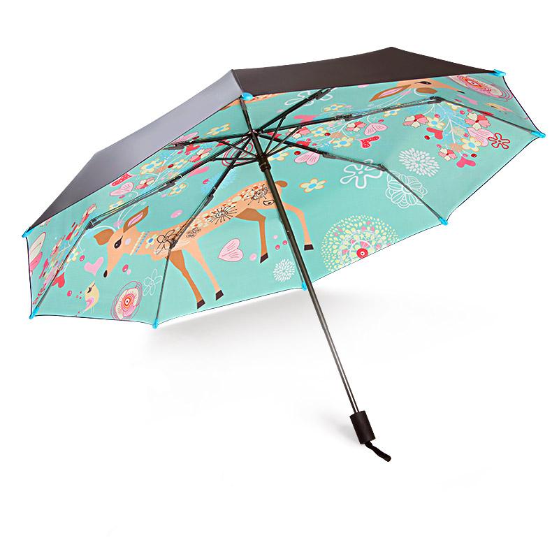 宝迪妮 双层太阳伞<font color='red'><b>防晒</b></font>雨伞超大号折叠伞