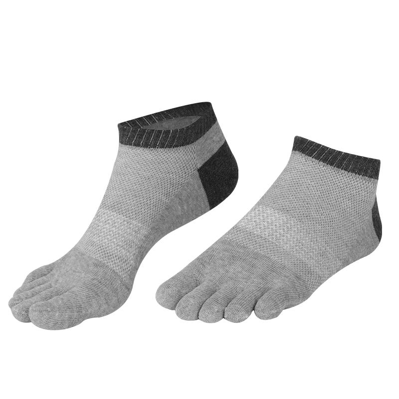 五指袜男士夏季薄款网眼短筒运动跑步五趾袜分脚趾吸汗镂空船袜子_天猫超市优惠券