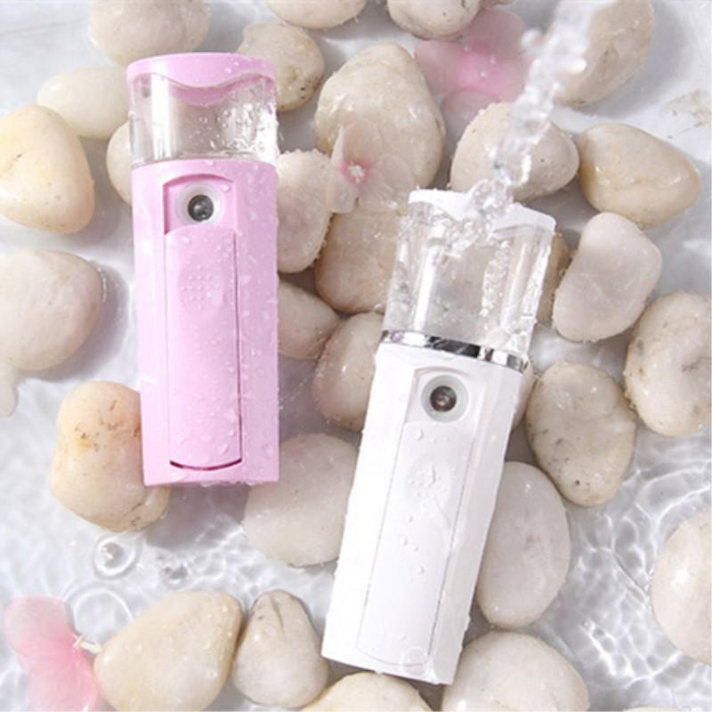 纳米喷雾补水仪器蒸脸器美白嫩肤排毒保湿便携脸部加湿器美容仪女