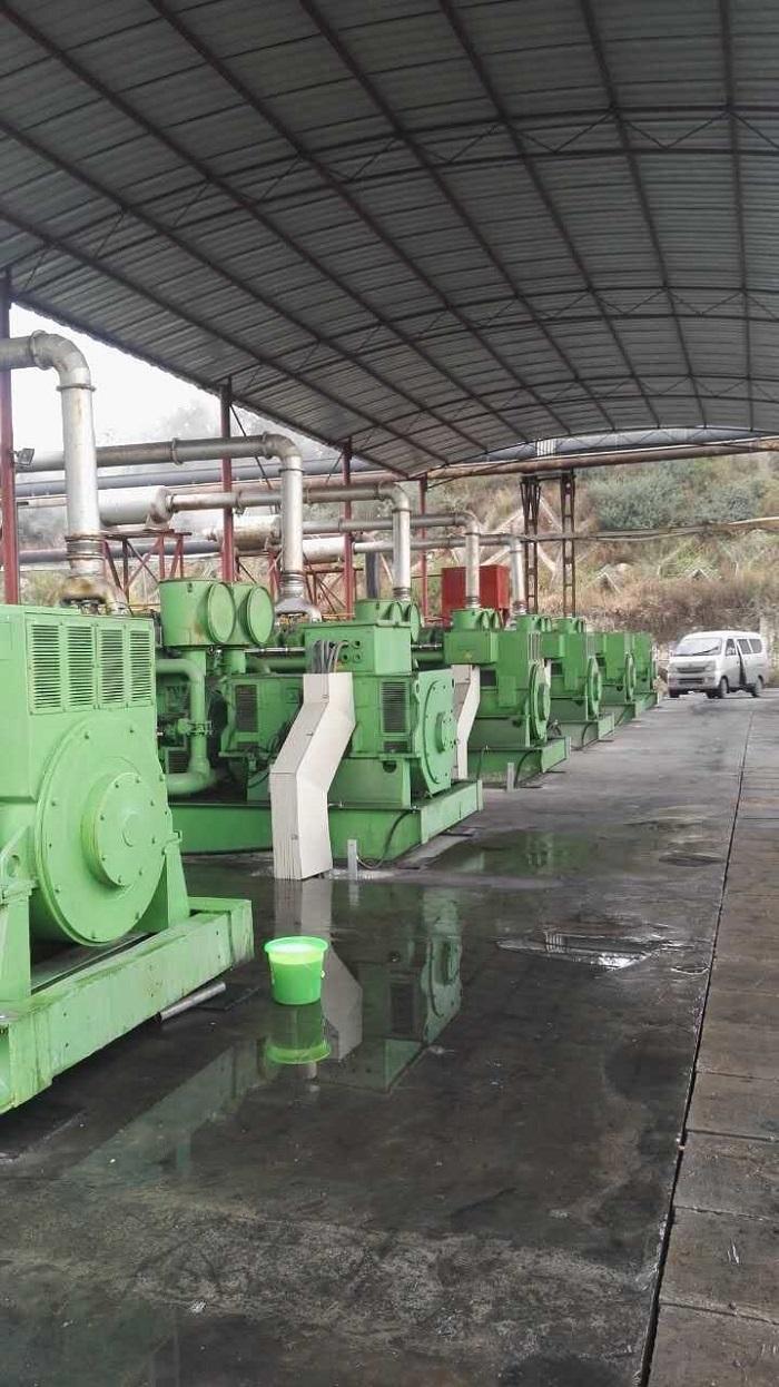 400KW очаговый из газа генератор группа