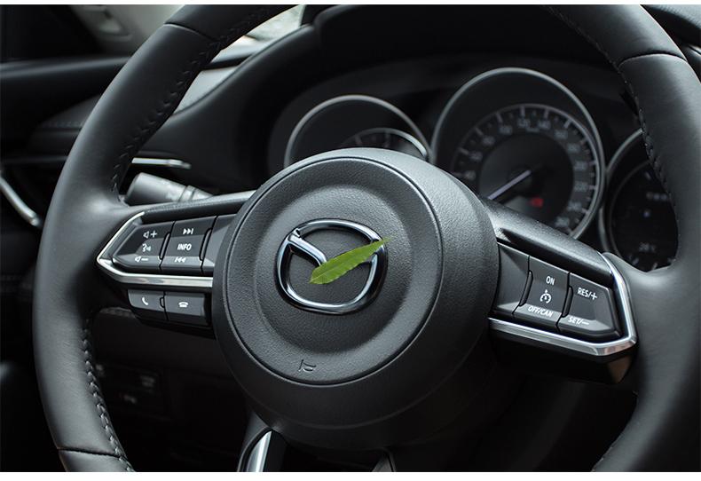 Logo trang trí vô lăng xe Mazda CX8 - ảnh 13