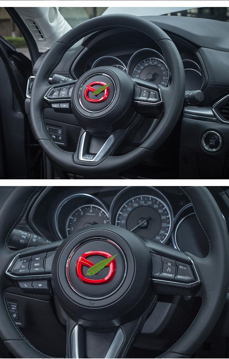 Logo trang trí vô lăng xe Mazda CX8 - ảnh 11