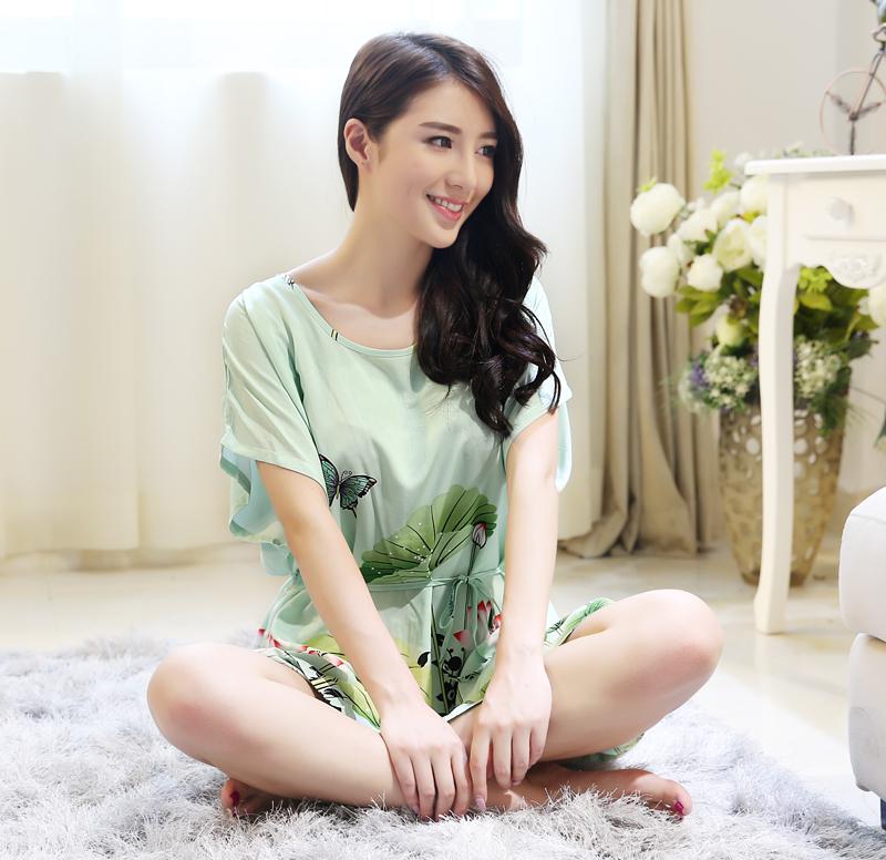 韩版纯棉绸睡裙 - 1505147909 - 太阳的博客