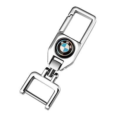 汽车钥匙扣奥迪宝马大众别克马蹄扣男女士个性创意防丢钥匙链挂件