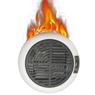 暖风机家用取暖器插电加热电暖器