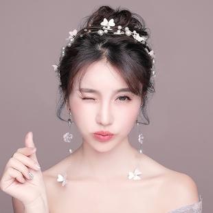 2019新款新娘头饰韩式饰品婚纱礼服配饰