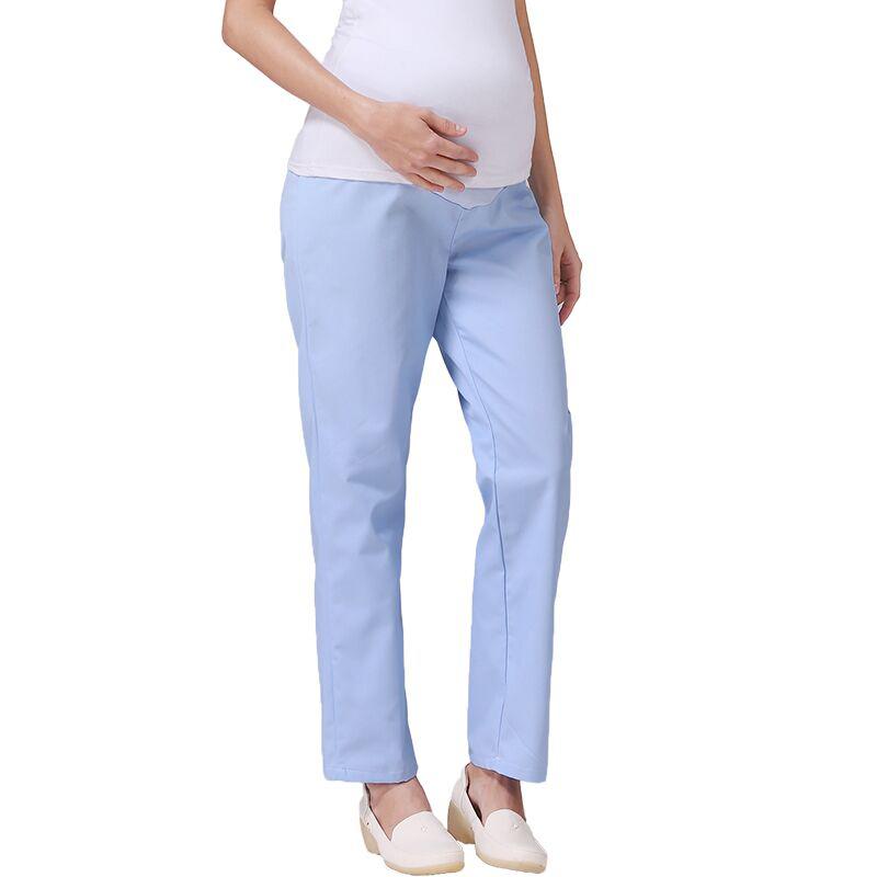 孕妇护士裤全托腹护士孕妇裤